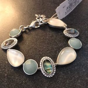 🎉🎉HP🎉NEW multi stone link bracelet Lucky Brand